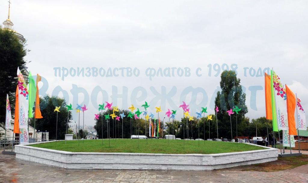 Воронеж флаг