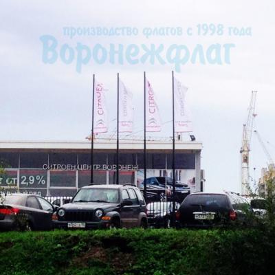 флаги для автосалона
