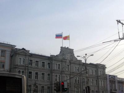 крышные флаги в Воронеже