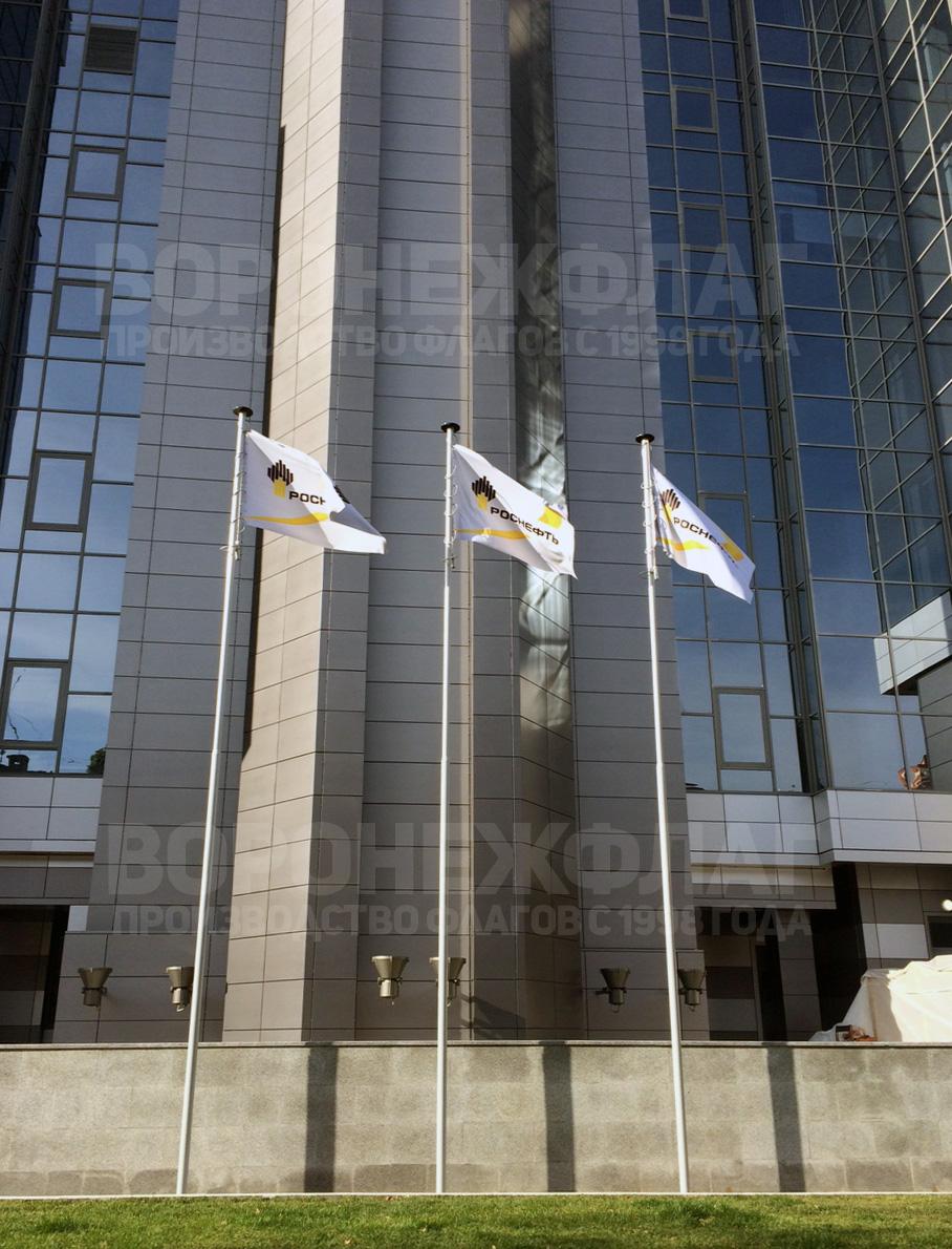 монтаж флагштоков роснефть воронеж