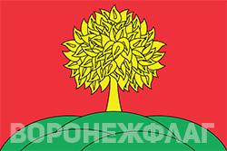 Флаг Липецка в векторе