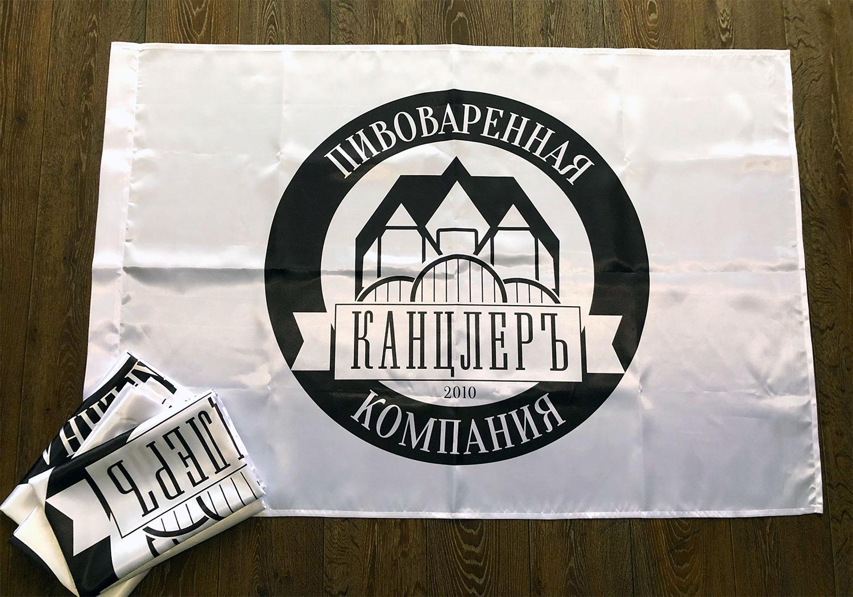 флаг-для-пивоваренной-компании-канцлер-Воронеж