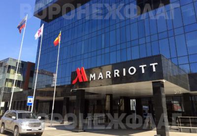 флаги-и-флагштоки-marriott-Воронеж