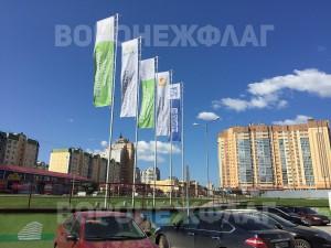 флаги флагштоки ВДК ОЛИМПИЙСКИЙ Воронеж